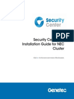 5.1 SR1 - NEC Cluster Installation Guide