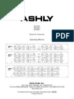 Ashly XR1001 Stereo 2Way Mono 3Way Crossover Manual