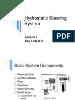 Hydraulic Steering 1
