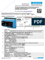 Voltaje-Frequency Relay UFR 1001E (Deutchs Manual ZIEHL)
