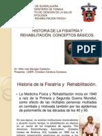 Historia de la Fisiatría y Rehabilitación