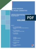 Justice Mudgal IPL Probe Committee Report
