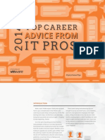 Spiceworks - 2014 Top Career Advice From IT Pros - Free eBook