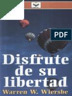 Warren w. Wiersbe Disfrute de Su Libertad