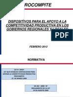 PRESENTACION PROCOMPITE GR2