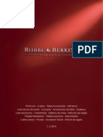 Robbe and Berking Siver Catalogue With Prices 2013-03-01