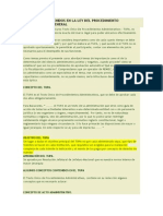 Conceptos Contenidos en La Ley Del Procedimiento Administrativo General
