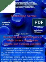 Exposicion de teoria de decisiones Distribución Normal