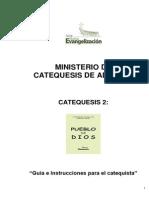 35 PUEBLO de DIOS Instrucciones