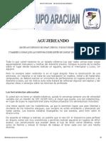 Grupo Aracuan - Tecnicas de Agujereado