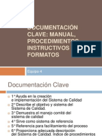 Documentación Clave