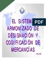 El Sistema Armonizado Mex Cocex
