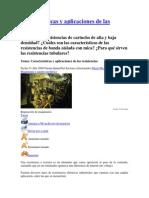 Características y aplicaciones de las resistencias