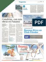 Andres Jaramillo Conalvias con más obras en Panamá