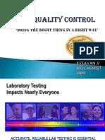 Basic Quality Control