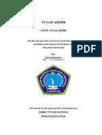Template Laporan Tugas Akhir AMIK Tunas Bangsa Tahun Ajaran 2014 MI