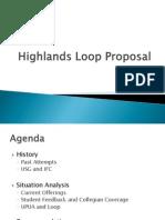 Highlands Loop Proposal[1]