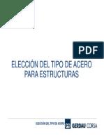 02 Elección del Tipo de Acero Para Estructuras