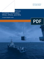 LR Energy Offshore Container Certification Guide