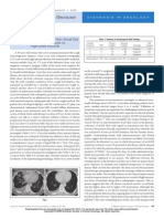 Carcinomatous Meningitis in NSCLC in Response to High Dose Erlotinib