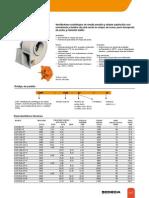 Ventilador Centrífugo Modelo CMT (SODECA)