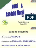 Saude Mental e Assedio Moral