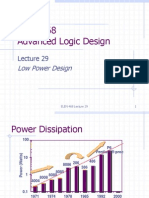 LOW POWER DESIGN METHODODLOGIES