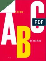 Pound, Ezra - ABC of Reading (Faber, 1991)