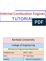 I. C. Engine