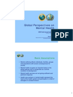 Global Perspectives on Mental Health