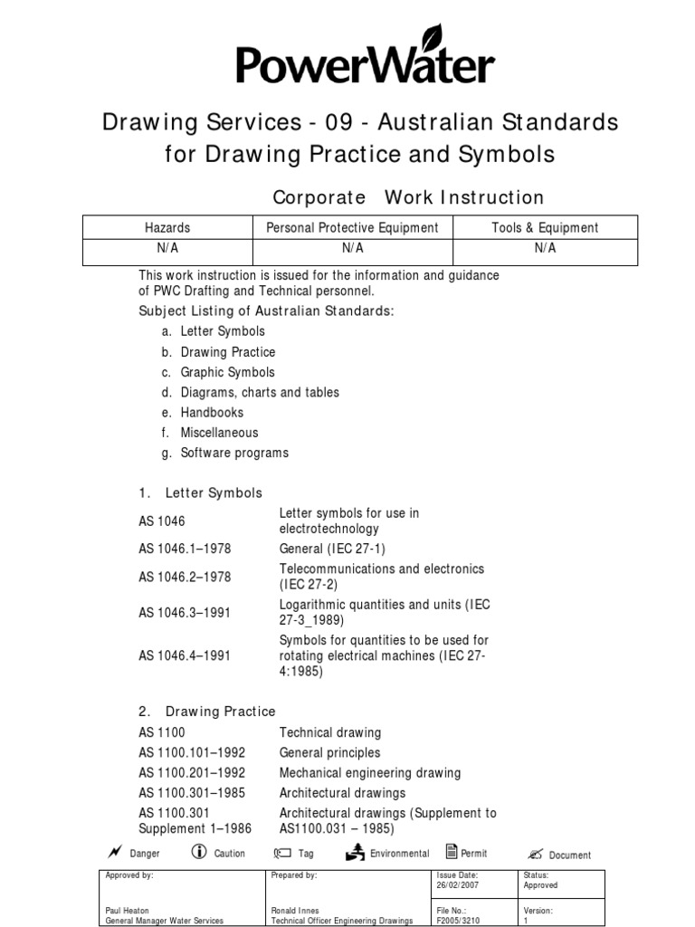 Drawing services 09 australian standards for drawing practice drawing services 09 australian standards for drawing practice and symbols international electrotechnical commission machines biocorpaavc