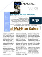 Islamically Speaking Newsletter VOL. 5
