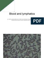 Blood and Lymphatics