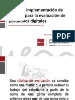 Rúbrica eval. e-folio