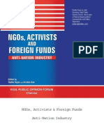 NGOs Activists and Foreign Funds