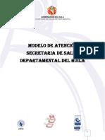 Modelo de Atencion Secretaria de Salud Departamental Huila