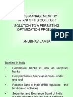 Funds Management by Banks in India