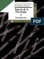 Historia de La Psicología = Luis García Vega - José Moya Santoyo - Sandalio Rodríguez Domínguez
