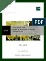 Guia II Historia de La Filosofia en La Edad Contemporanea