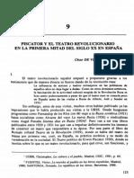 Piscator y El Teatro Revolucionario en La Primera Mitad Del Siglo XX en Espaa