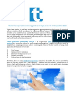 What Are the Key Benefits of Cloud Application Development and UI Development for SME's
