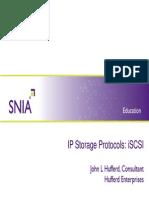 JohnHufferd IP Storage Protocols iSCSI