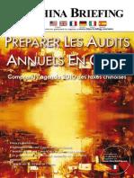 Preparer Les Audits Annuels en Chine