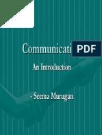 Communication - The Basics