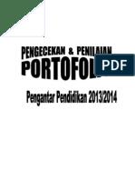 131129 Lembar Penilaian Portofolio Pengantar Pendidikan