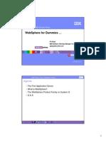 WebSphere for Dummies (Handout)