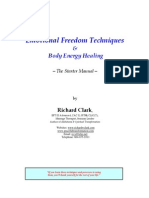 Emotional Freedom Techniques and Body Energy Healing