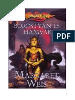 Margaret Weis  - Borostyán és hamvak_olvasOMmani_