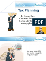 Tax planning for Indian salaried employees for FY 013-14