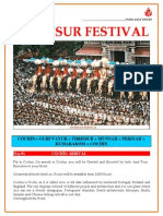 Thrissur Festival India